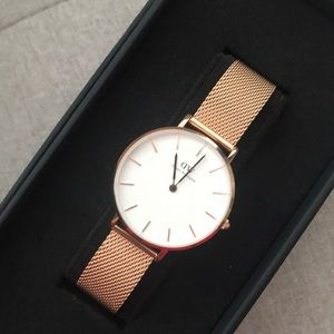 Daniel Wellington petite melrose 32mm rose gold